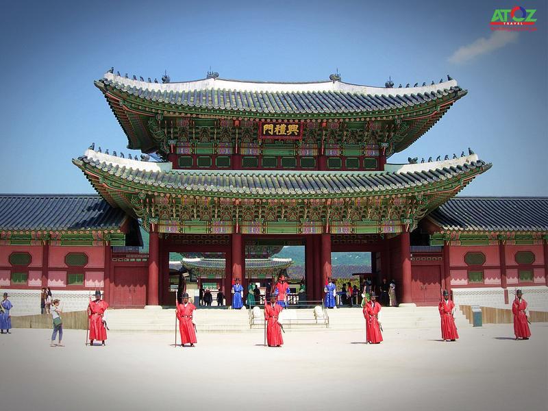 Ngược dòng thời gian về triều đại Joseon với Gyeongbokgung