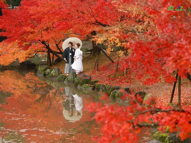 Những địa điểm không thể bỏ qua khi đến Nhật Bản vào mùa thu