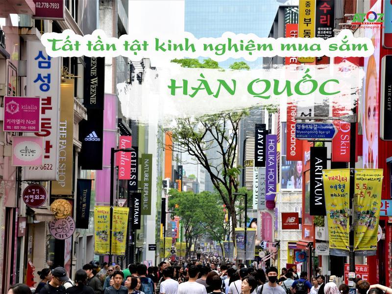 """Bật mí """"tất tần tật"""" kinh nghiệm mua sắm tại Hàn Quốc"""