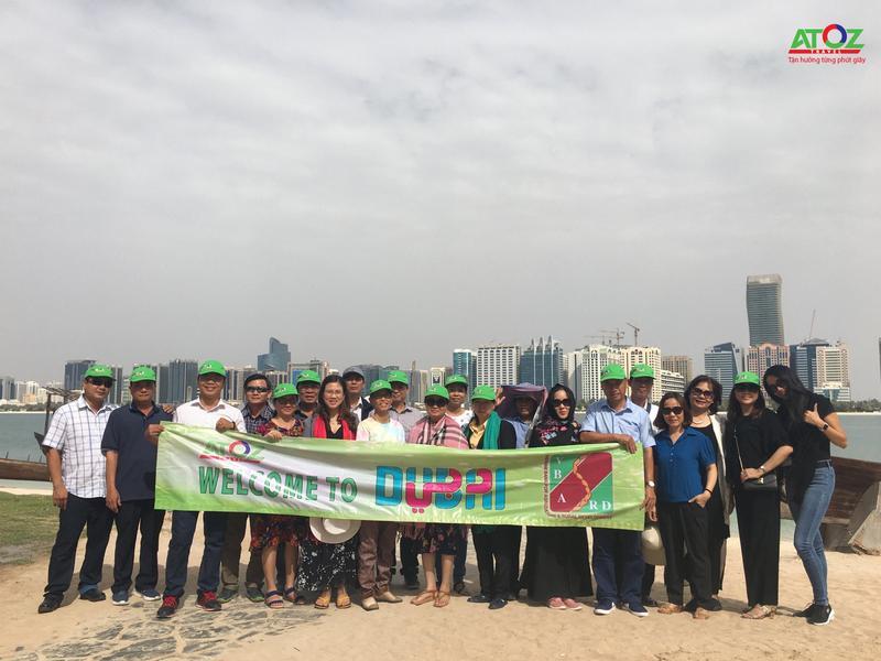 Đoàn Tour Dubai ngày 13/05/2018