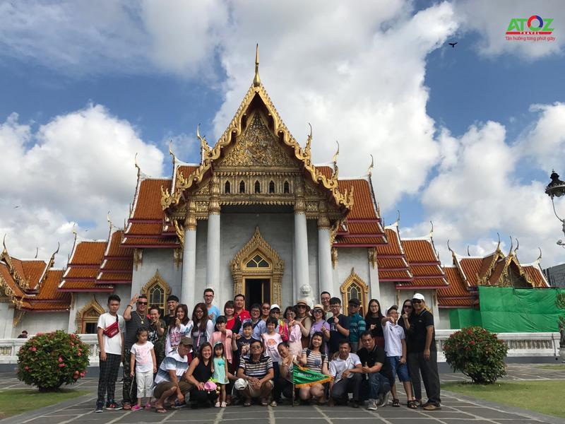 Đoàn Tour Thái Lan ngày 23/06/2018