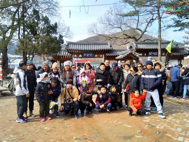 Đoàn Tour trượt tuyết Hàn Quốc ngày 21-2-2018