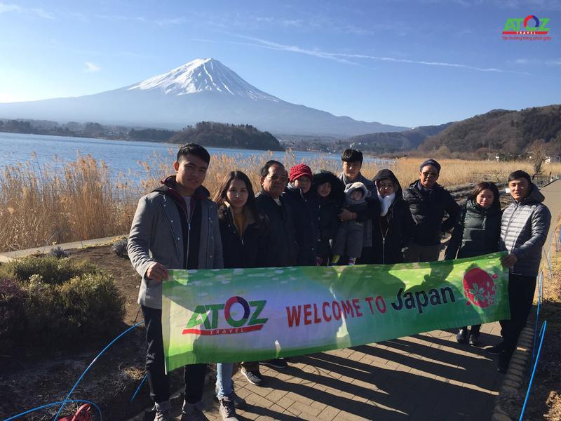 Đoàn Tour Nhật Bản ngày 15/02/2019