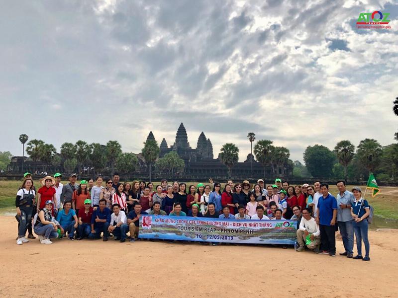 Đoàn Tour Campuchia ngày 11/05/2019