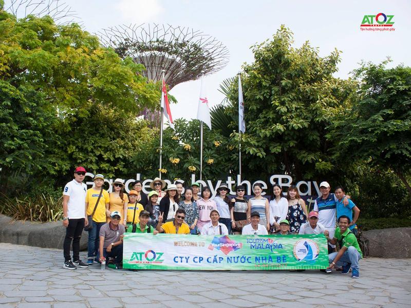 Đoàn tour Singapore - Malaysia ngày 04/07/2017