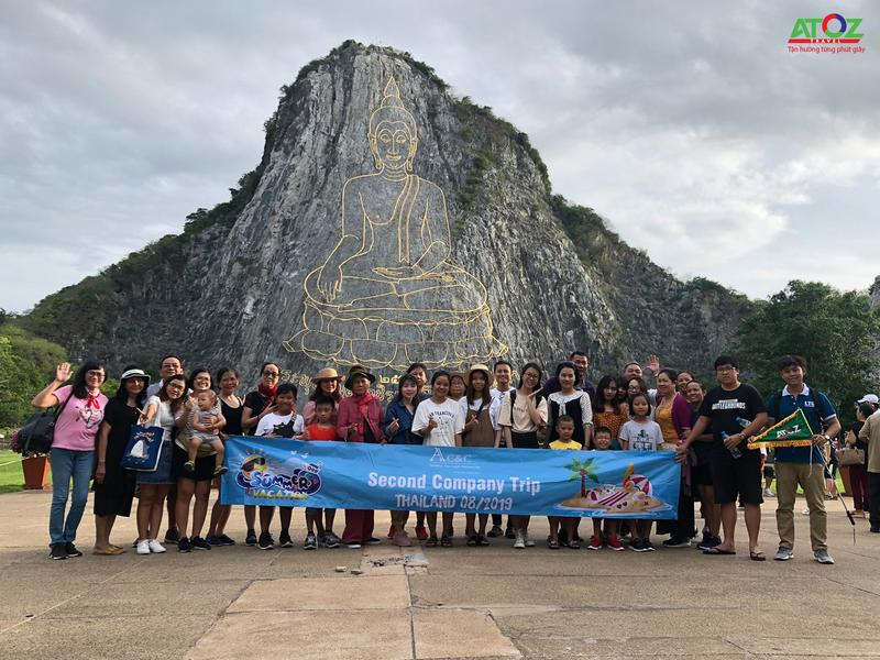 Đoàn Tour Thái Lan ngày 14/08/2019