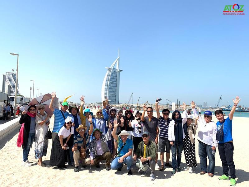 Đoàn Tour Brunei - Dubai - Dhabi 17/09/2019