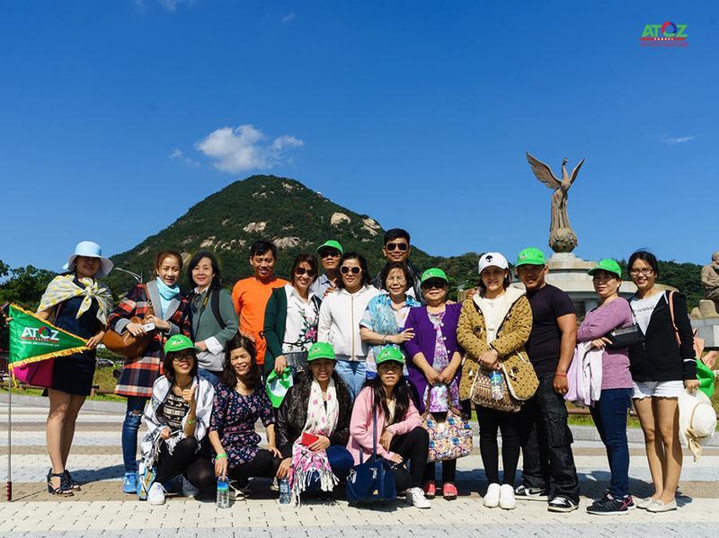 Đoàn tour Hàn Quốc ngày 7/10/2016