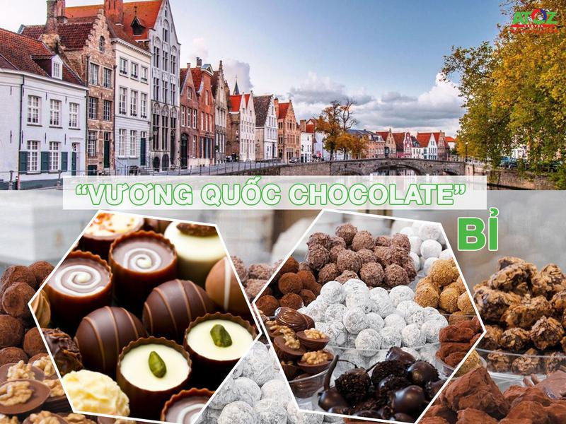 Đắm chìm trong thế giới chocolate ở Bỉ