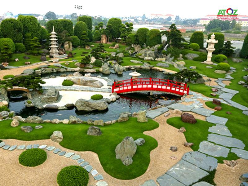 """Vườn Nhật """"khổng lồ"""" giữa lòng Hà Nội"""