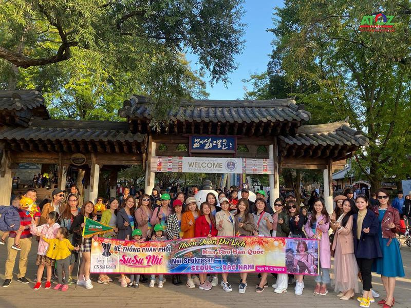 Đoàn Tour Hàn Quốc ngày 12/10/2019