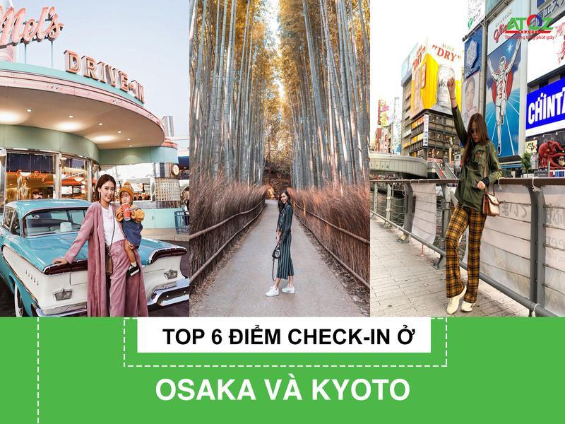"""Top 6 điểm """"check in"""" thần thánh ở Osaka và Kyoto: Chỉ cần đứng vào là sẽ có ngay ảnh đẹp"""