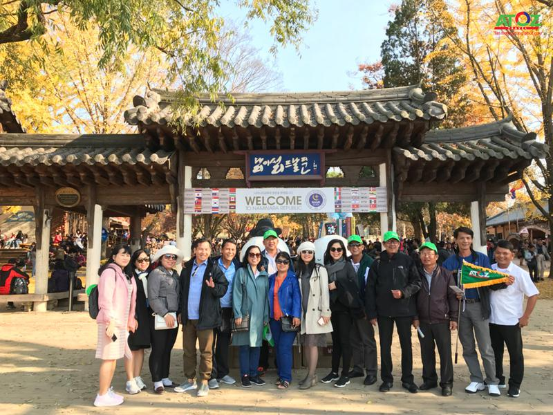 Đoàn Tour Hàn Quốc ngày 04 - 08/11/2019