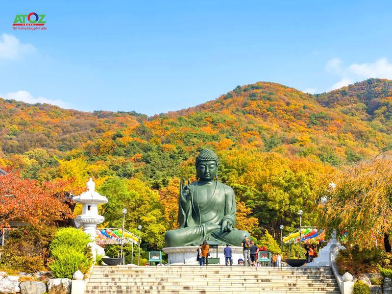 Tour Hàn Quốc mùa thu tuyến đặc biệt 2019: Núi Seoraksan – Đảo Nami – Seoul