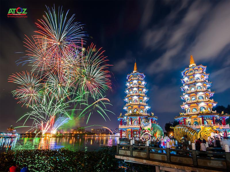 Tour Đài Loan tết 2020 (mùng 2 & 3): ĐÀI BẮC – CV DƯƠNG MINH SƠN – NAM ĐẦU – CAO HÙNG - ĐÀI TRUNG