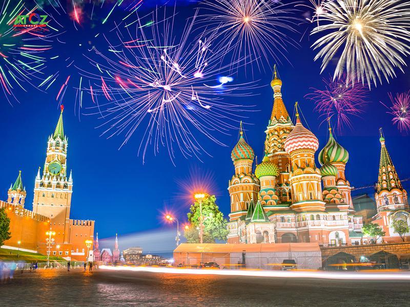 Tour Nga tết 2020 (mùng 3 ): MATXCOVA - ST. PETERSBURG