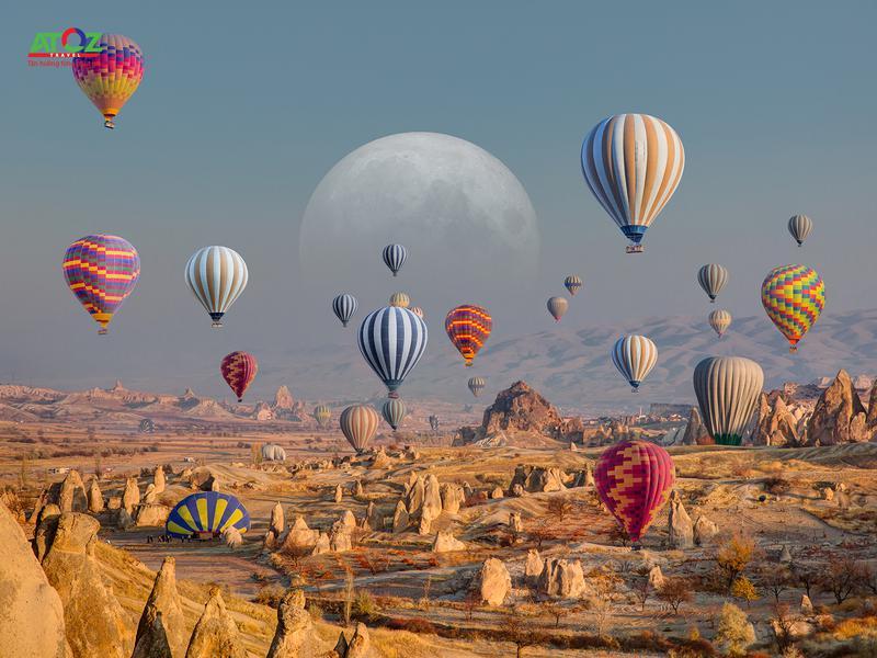 Tour Thổ Nhĩ Kỳ tết 2020 (mùng 2)