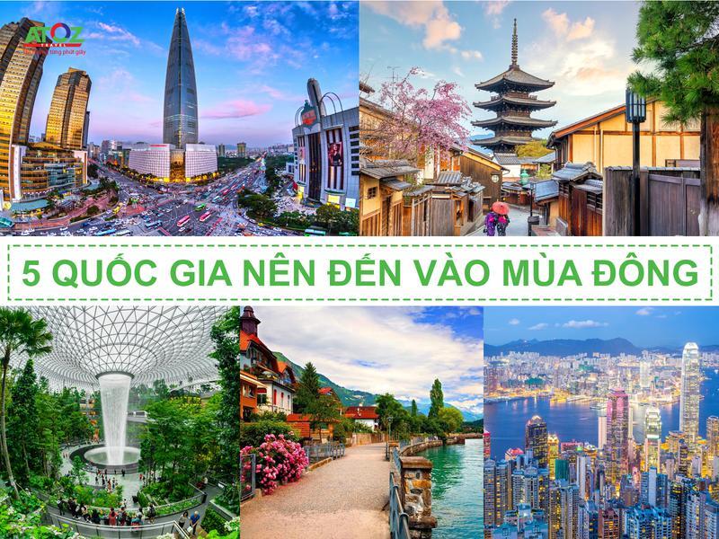 5 đất nước nên đến vào mùa du lịch cuối năm