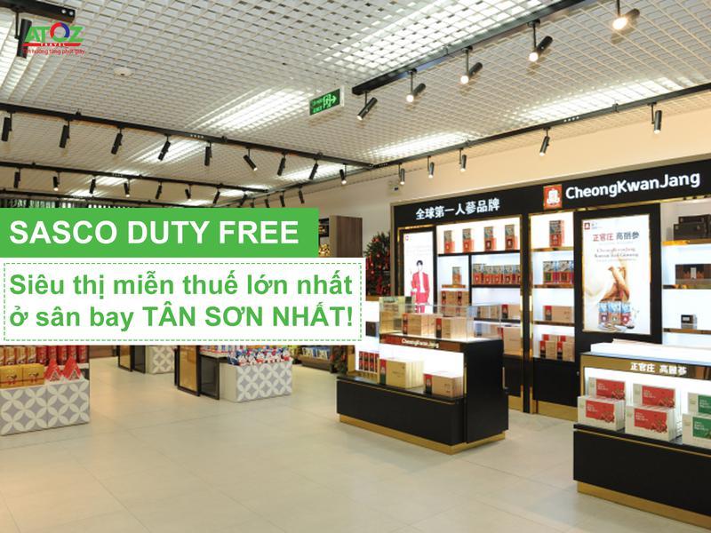 Khai trương cửa hàng miễn thuế lớn nhất sân bay Tân Sơn Nhất
