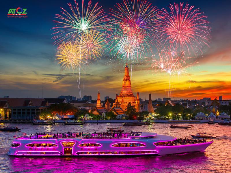 Những tọa độ đón giao thừa lý tưởng ở Thái Lan