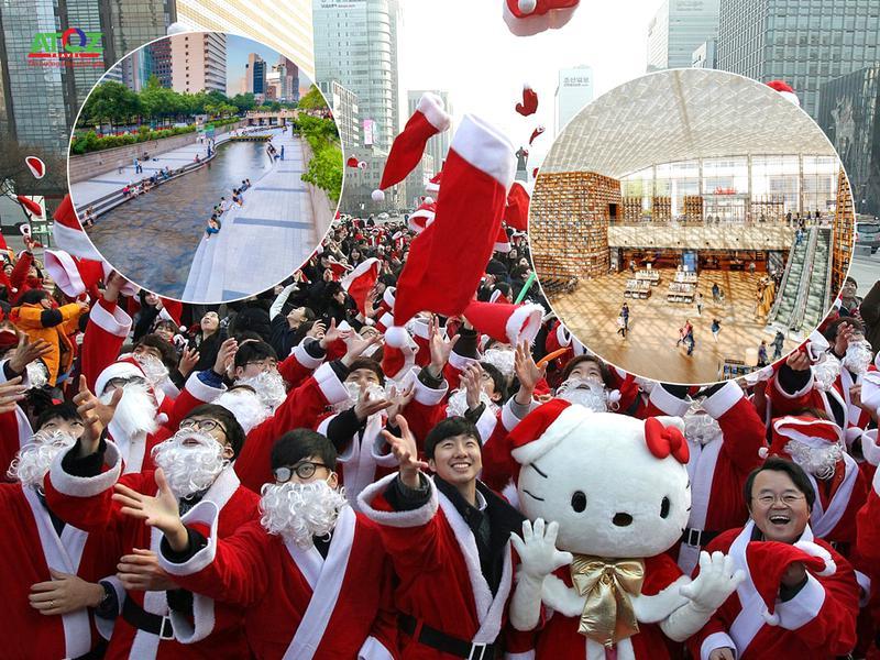 Đi Seoul, Hàn Quốc mùa giáng sinh thì đi đâu chơi?