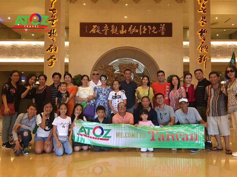 Đoàn tour Đài Loan ngày 24/05/2017