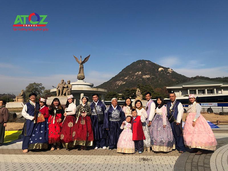 Đoàn tour Hàn Quốc ngày 29/11/2019