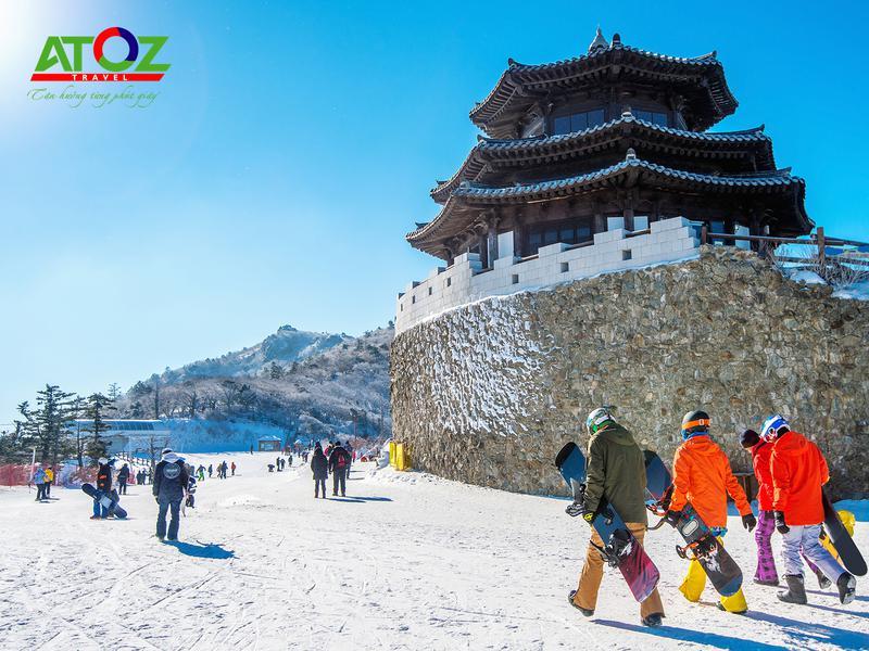 Tour trượt tuyết Hàn Quốc mùa đông: SEOUL – ĐẢO NAMI – ELYSIAN – LOTTE WORLD (VJ)