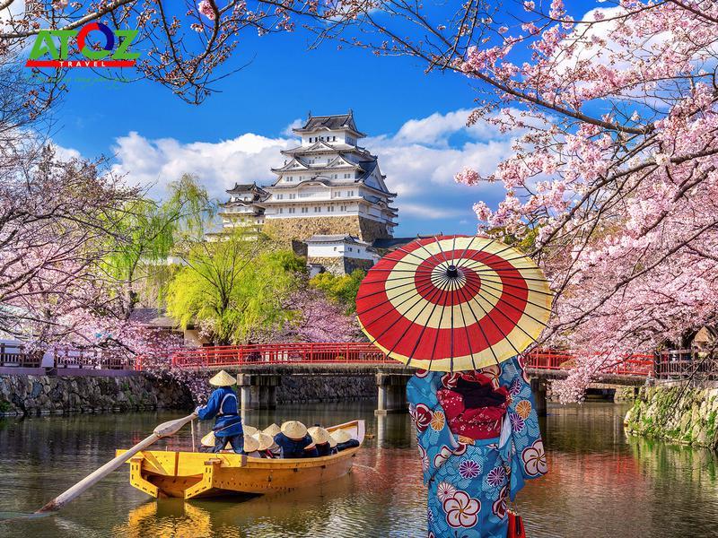 Tour Nhật Bản mùa hoa anh đào: Ibaraki – Yamanashi – Tokyo