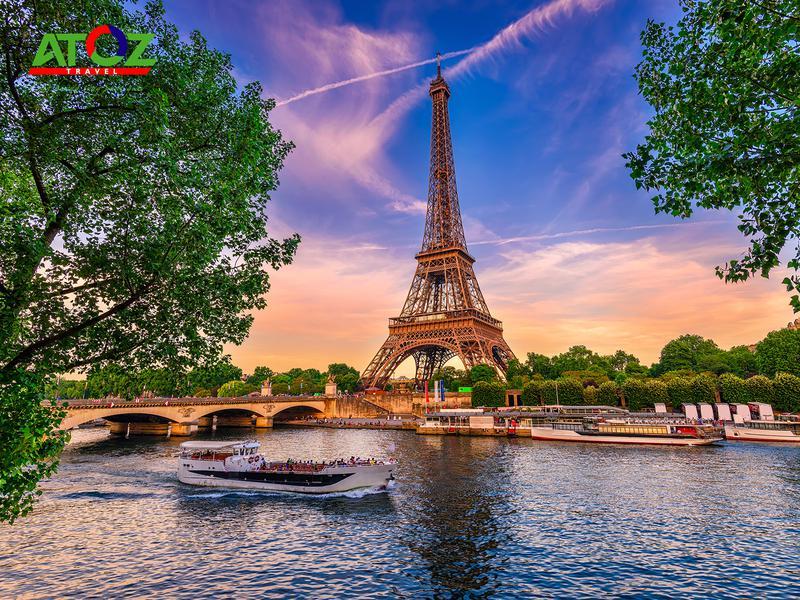 Tour Châu Âu 5 Nước (mùng 2 tết): Pháp - Luxembourg - Đức - Hà Lan - Bỉ