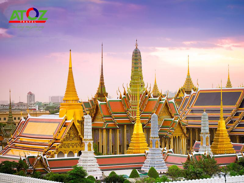 Tour Thái Lan 2020 (Tháng 10, 11 & 12): BANGKOK - PATTAYA