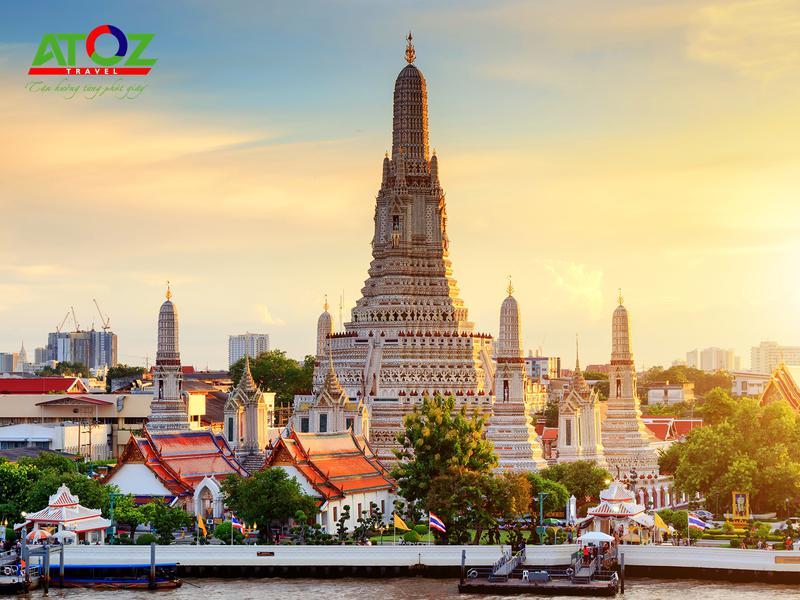 Tour Thái Lan 2020 (Tháng 6, 7, 8 & 9): BANGKOK - PATTAYA