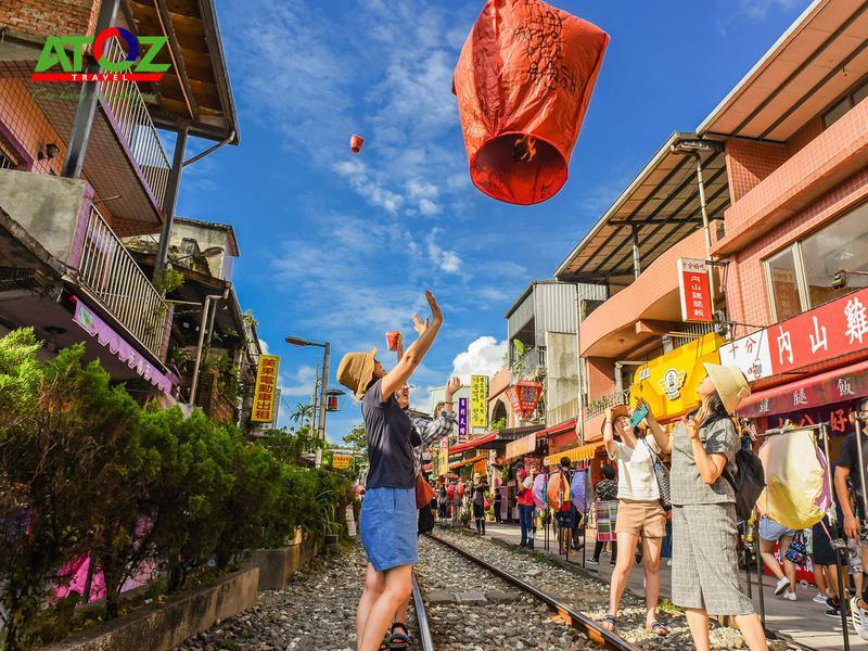 Tour Đài Loan: Đài Trung - Làng Cầu Vồng - Cao Hùng - Đài Bắc (China Air)
