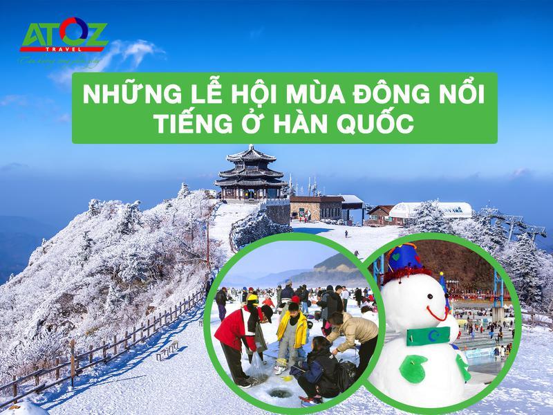 Những lễ hội mùa đông nổi tiếng nhất Hàn Quốc