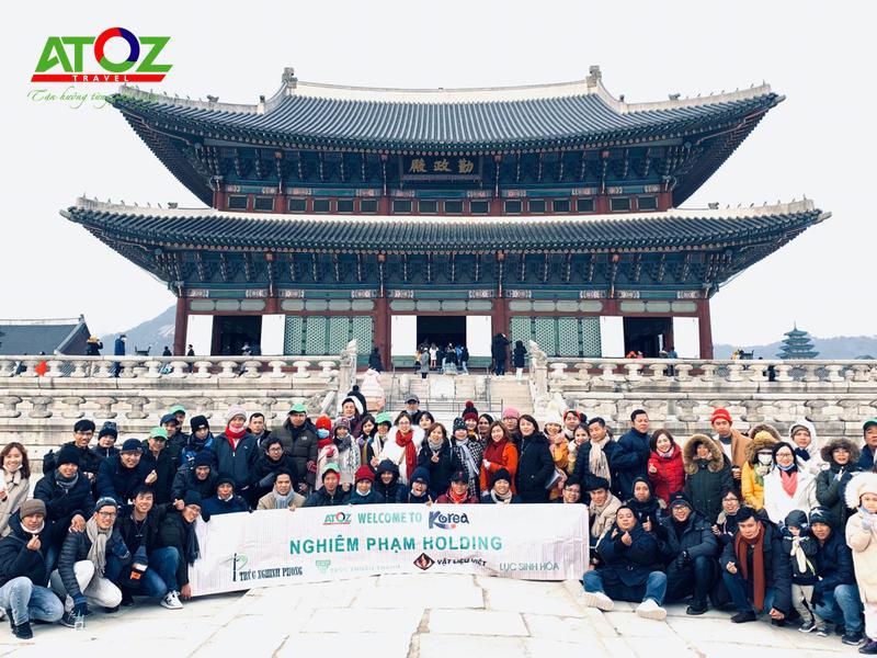 Đoàn tour Hàn Quốc ngày 2/2 - 7/2/2020