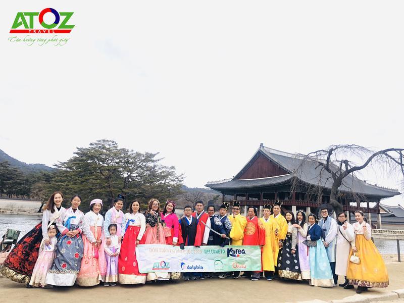 Đoàn tour Hàn Quốc ngày 25/01 - 29/01/2020