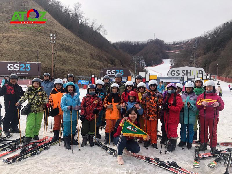 Đoàn tour Hàn Quốc ngày 27/1 - 31/1/2020