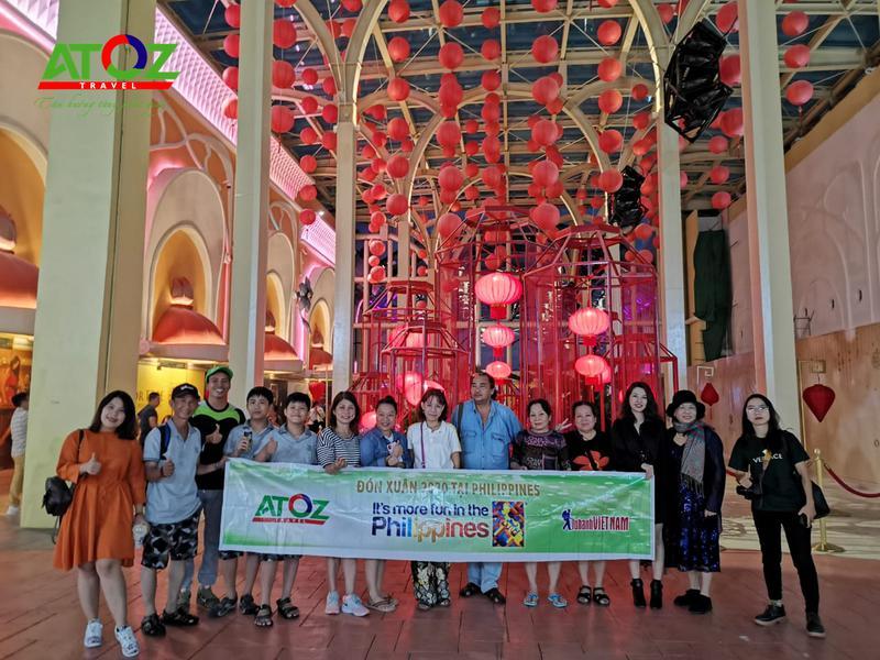 Đoàn tour Philippines ngày 25/01 - 28/01/2020