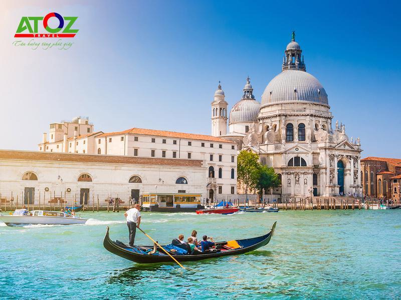 Tour Châu Âu 3 nước: Pháp - Thụy Sĩ - Ý