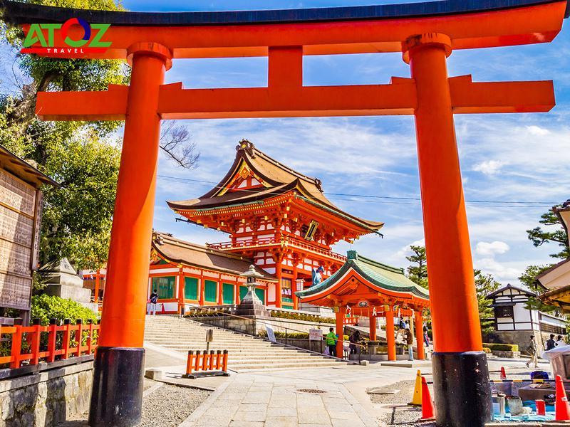 Tour Nhật Bản cung đường vàng mùa hè: Tokyo – Yamanashi – Toyohashi – Kyoto – Osaka – Nara