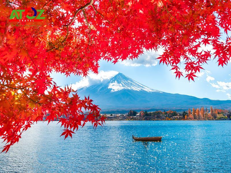 Tour Nhật Bản cung đường vàng mùa thu: Tokyo – Yamanashi – Toyohashi – Kyoto – Osaka – Kobe