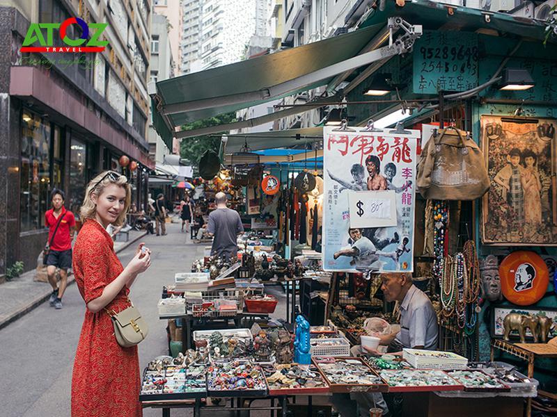 Khám phá Hồng Kông với những khu chợ mua sắm hàng đầu