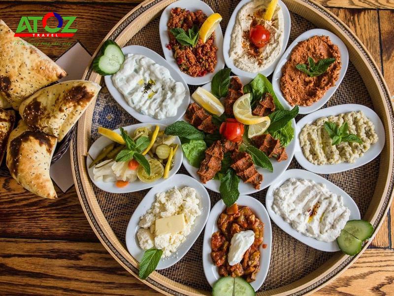 Du lịch Thổ Nhĩ Kỳ giá rẻ thưởng thức những món ăn siêu siêu ngon
