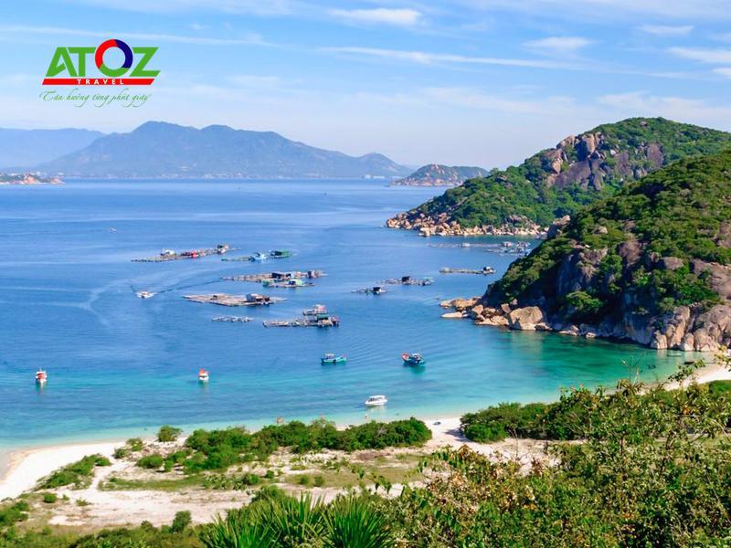Tour du lịch 2 ngày 2 đêm Đảo Bình Ba - Vịnh Vĩnh Hy