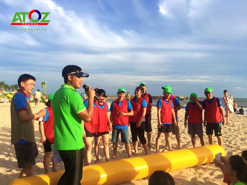 Du lịch hè tổ chức team building miễn phí với AdenZ